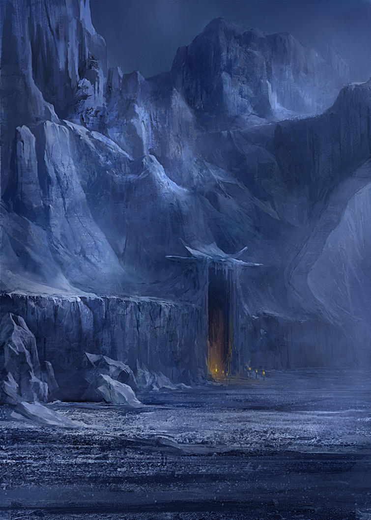Snowy lair by gerezon