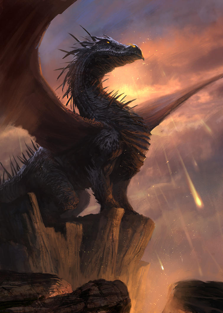 Fire Dragon by gerezon