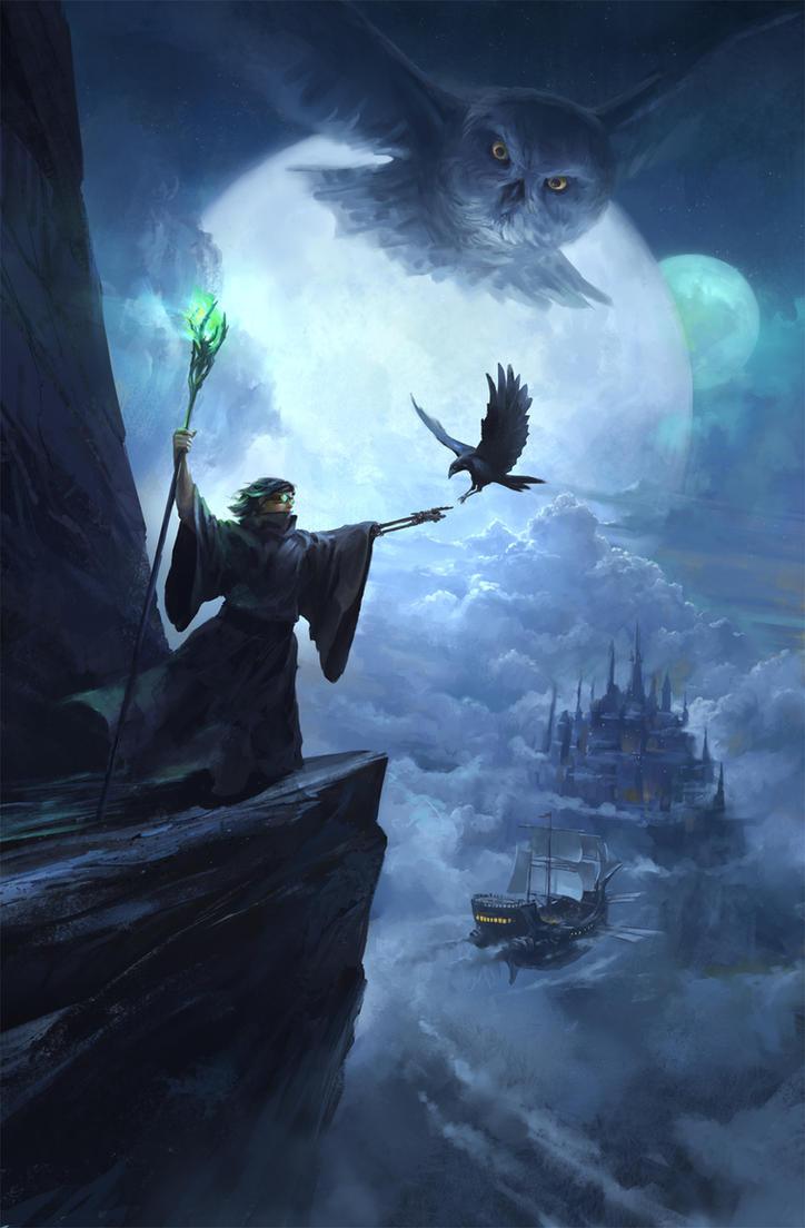 Son Of A Dark Wizard By Gerezon On Deviantart