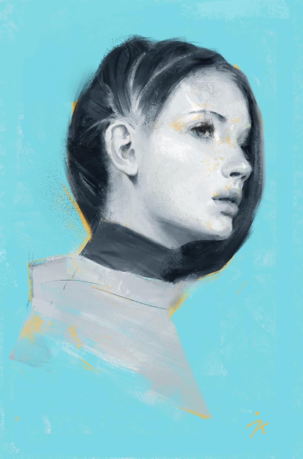 Portrait practice by gerezon