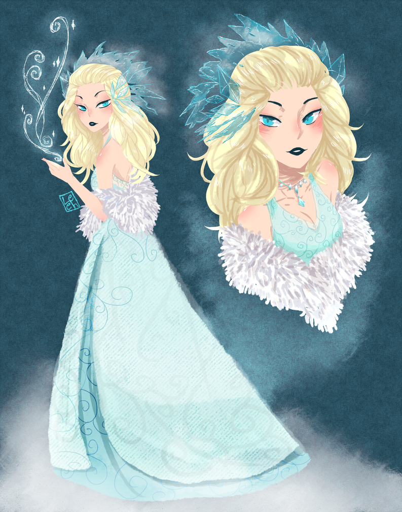 Elsa by SymphoBunny