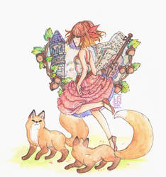 Little Fox  by SymphoBunny