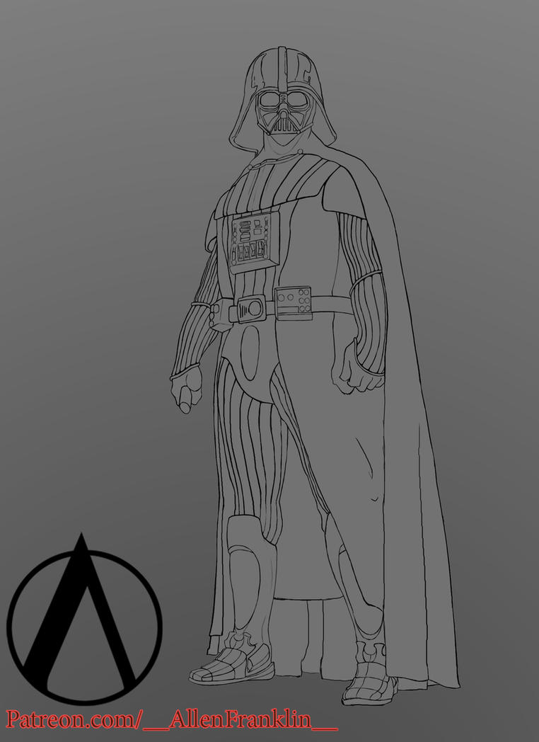 Lines Vader WIP by SpamBusta