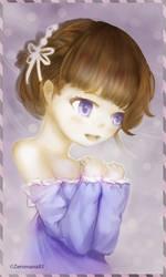 Haruka [Character Portrait(2/3)] by ZeroMana83