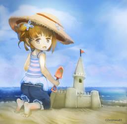Sand Castle by ZeroMana83