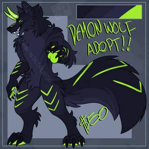 Demon Xbox wolf ADOPT :OPEN: