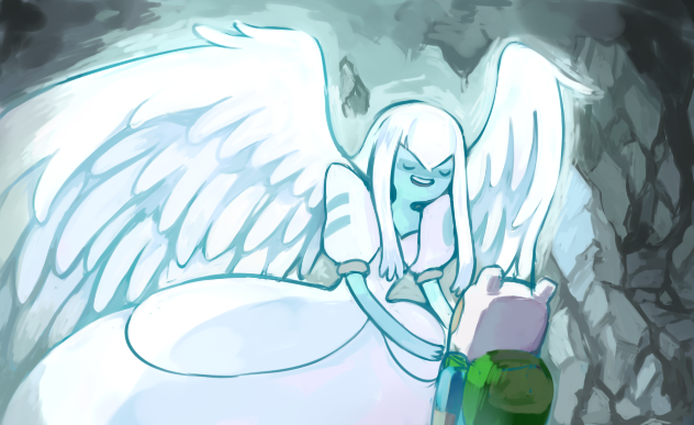 I'm your guardian angel by SASASAMI