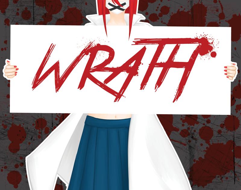 Seven Sins Wrath by haineko123