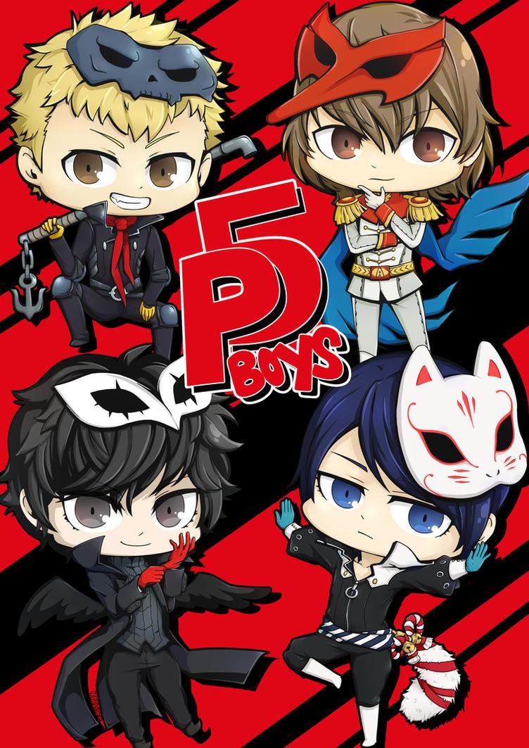 P5 Boys by haineko123