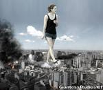 Giantess Emma Watson Dangerous Airspace