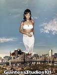 Giantess Rihanna Attacks Manhattan