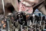 Mega Giantess Katelyn Brooks Devours Manhattan