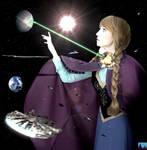 Giga Goddess Princess Anna - That's No Moon