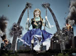 Giantess Princess Anna - Structural Integrity by GiantessStudios101