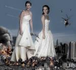 Giantess Emma And Jennifer - We Got Company by GiantessStudios101