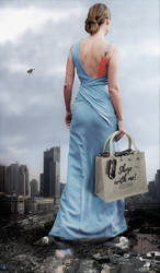 Giantess Brie Larson - Shopping In Shanghai by GiantessStudios101