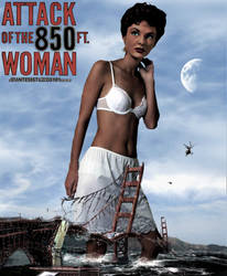 Attack Of The 850ft Woman