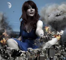 Mega Giantess Loryelle - In The Heat Of Battle