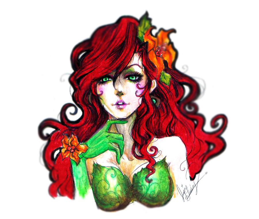 POISON IVY by 0Aqua-Mermaid0 on DeviantArt