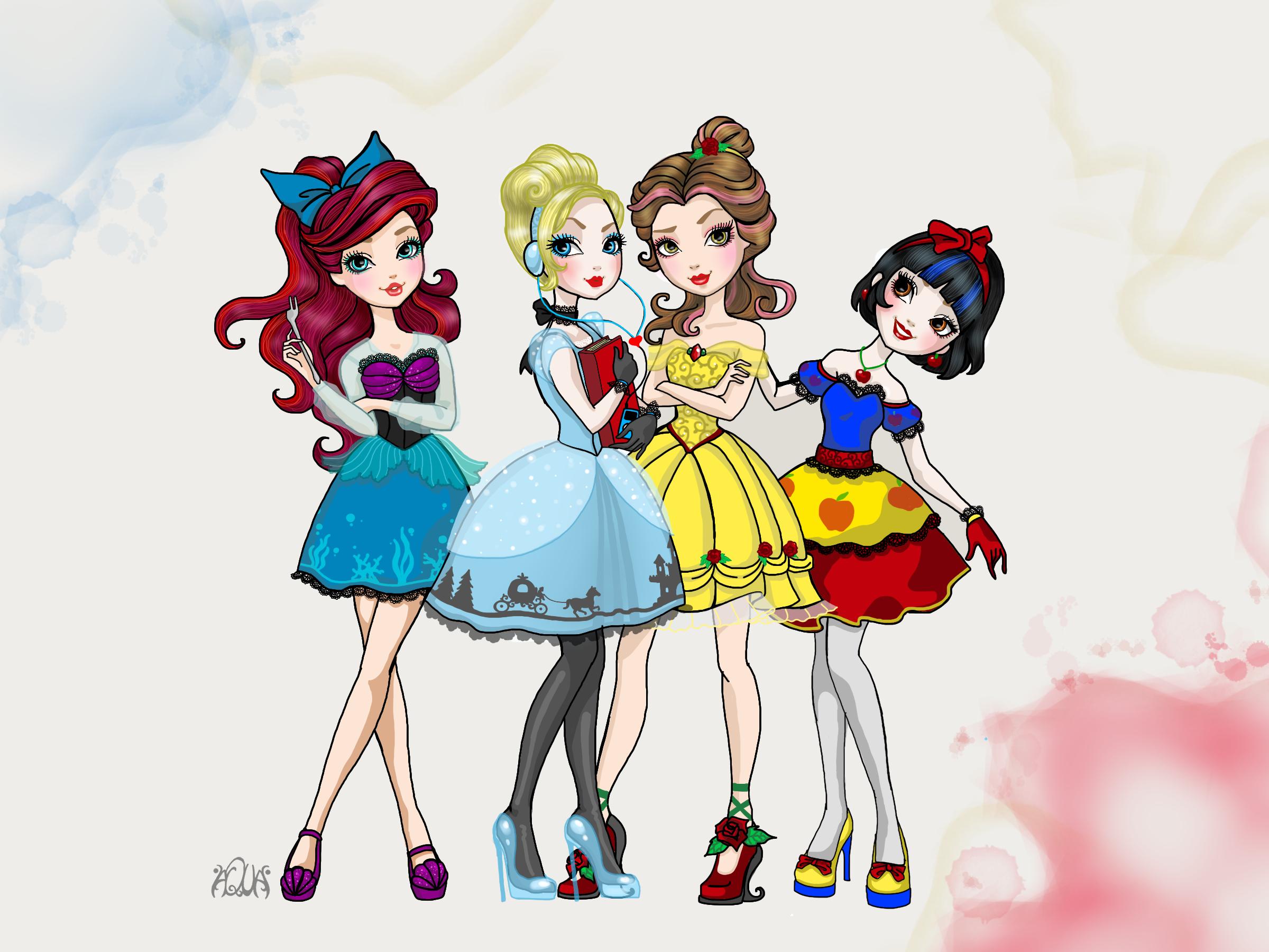 Disney princess ever after by 0aqua mermaid0 on deviantart disney princess ever after by 0aqua mermaid0 altavistaventures Choice Image
