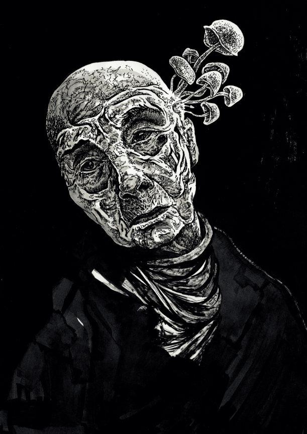 Portret halucynogenny by schodowski