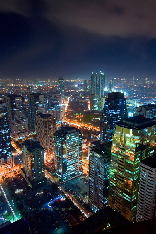 ortigas nightscape 10 by kjaex