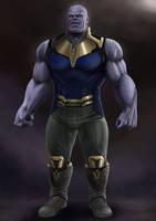 Thanos by igor-frankenstone