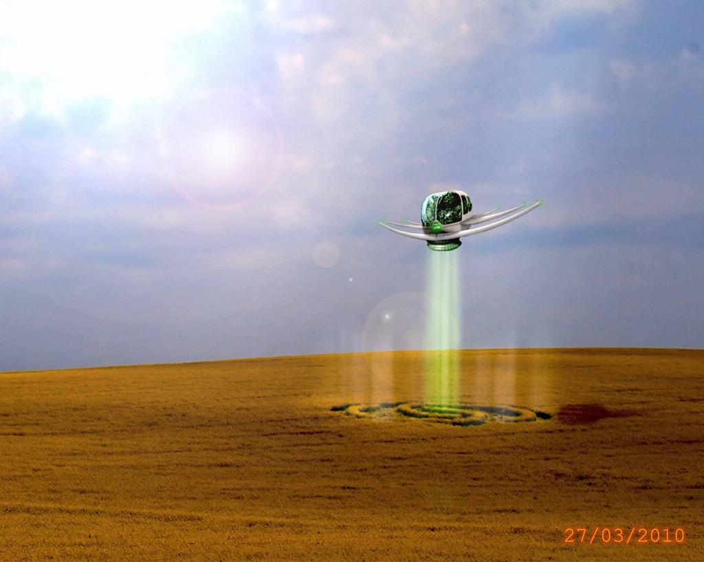 Crop Circling by BenGabbay