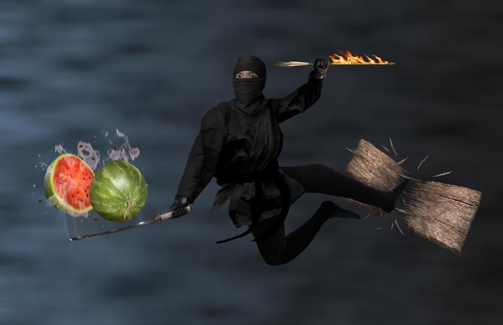 Ultimate Ninja by BenGabbay
