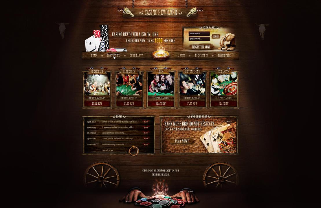 Casino Revolver by RadziuPL