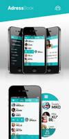 AddressBook app by RadziuPL
