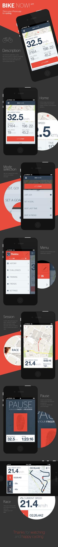 Bike now! app by RadziuPL