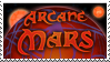 Arcane Mars Stamp by Arthulin