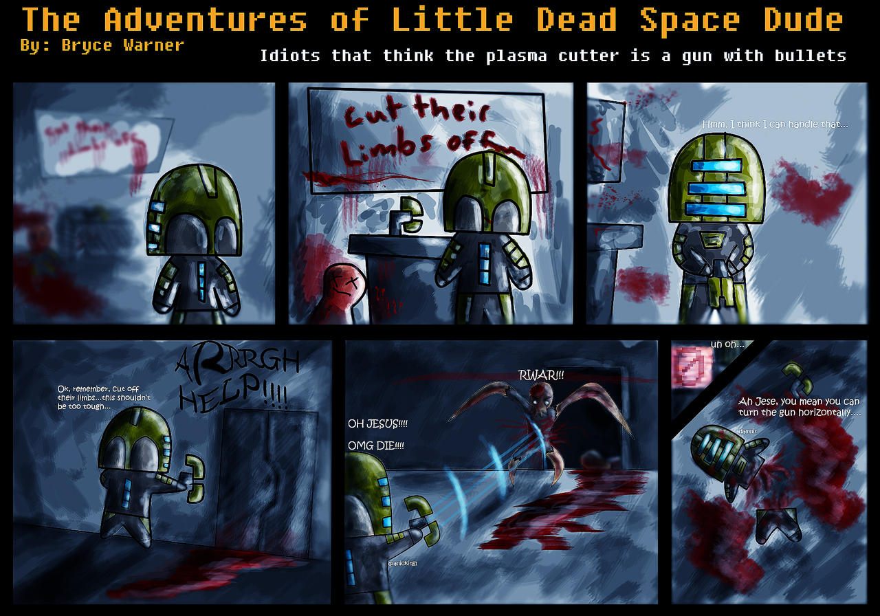 ldsd_comic_1_by_warnerator assassin's creed dead space comic meme by mattjeevaslover on