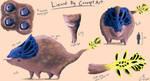 Lizard Pig concept art