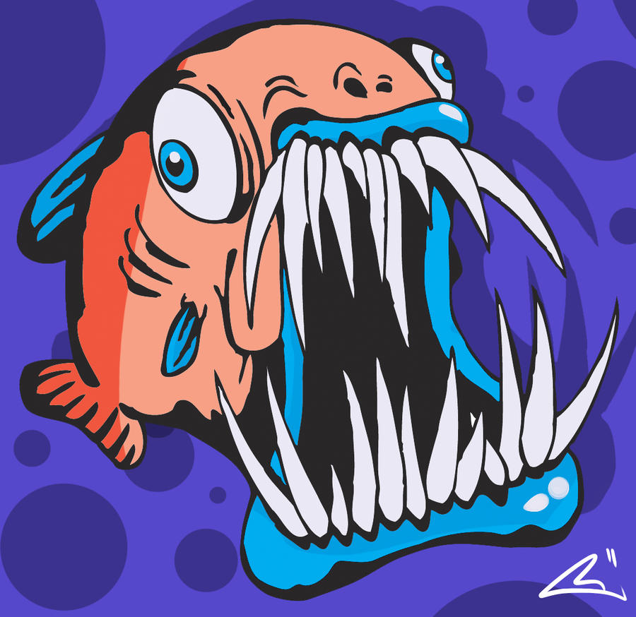 Crazy fish by bawarner on deviantart for Crazy fishing videos
