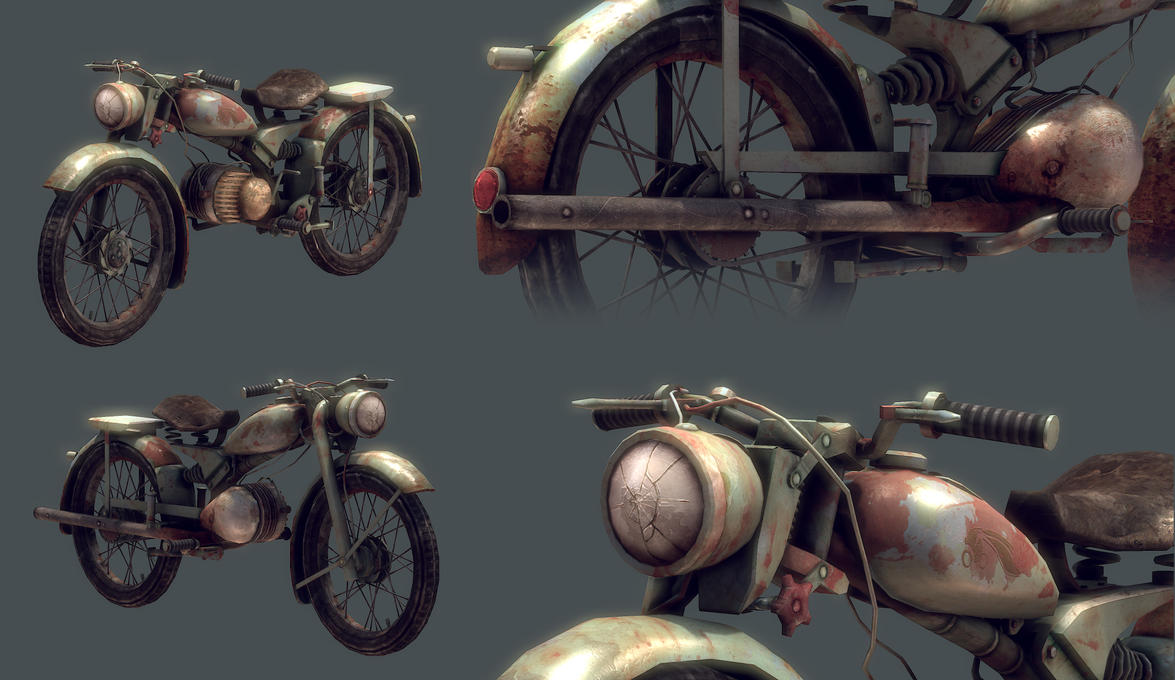 Vintage IMME Motorcycle model views by Bawarner
