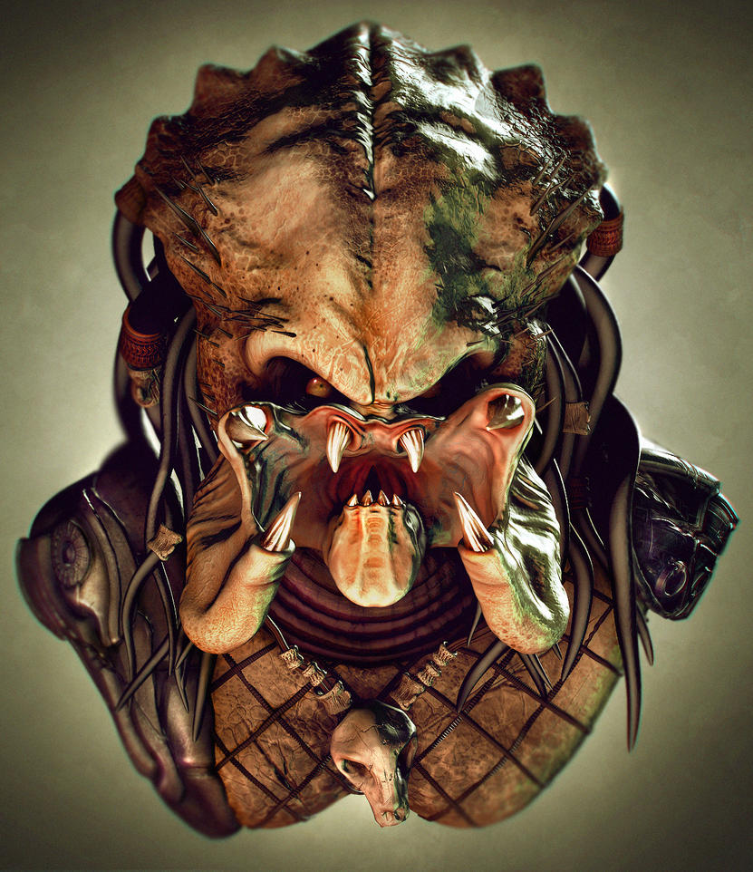 Predator Bust by Bawarner