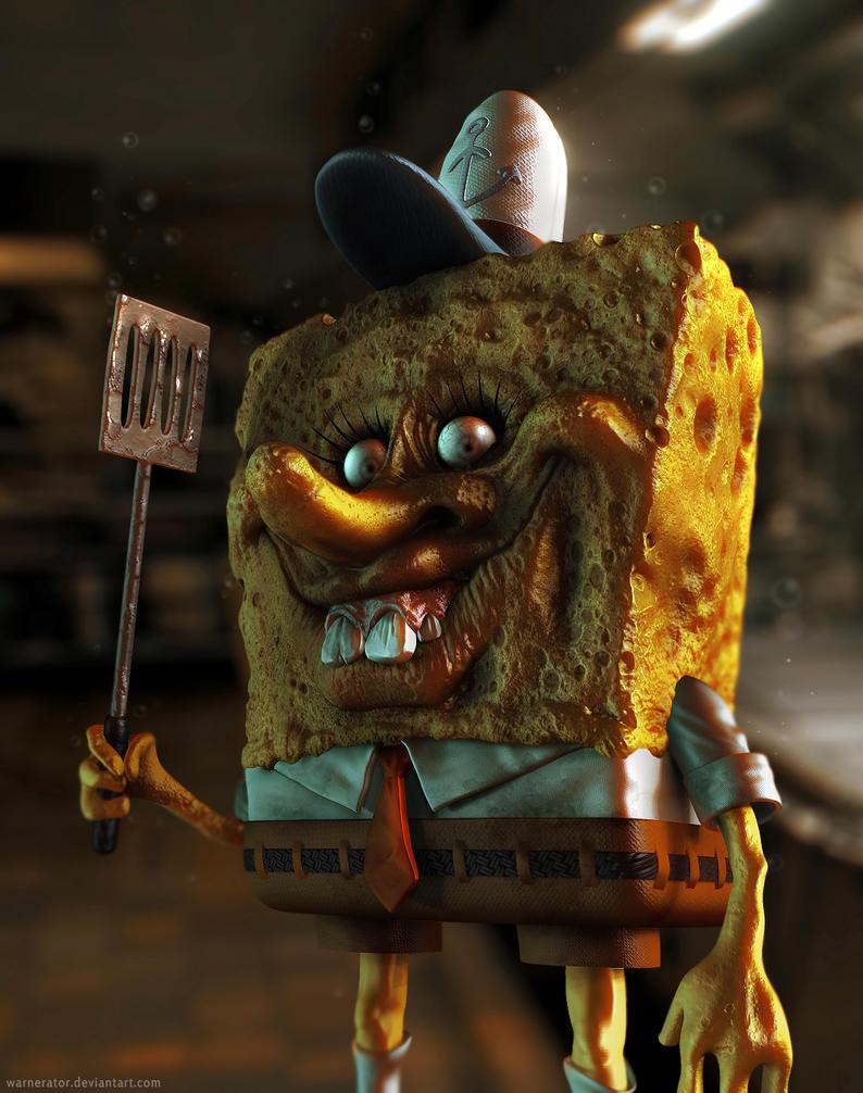 Spongebob Sparepants by Bawarner