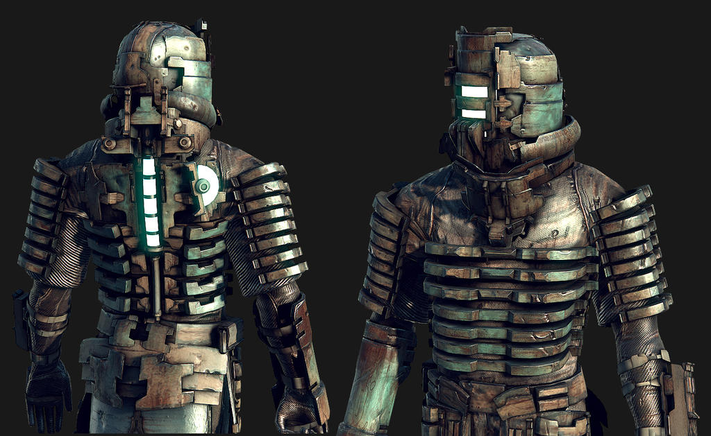 update dead space character by bawarner on deviantart