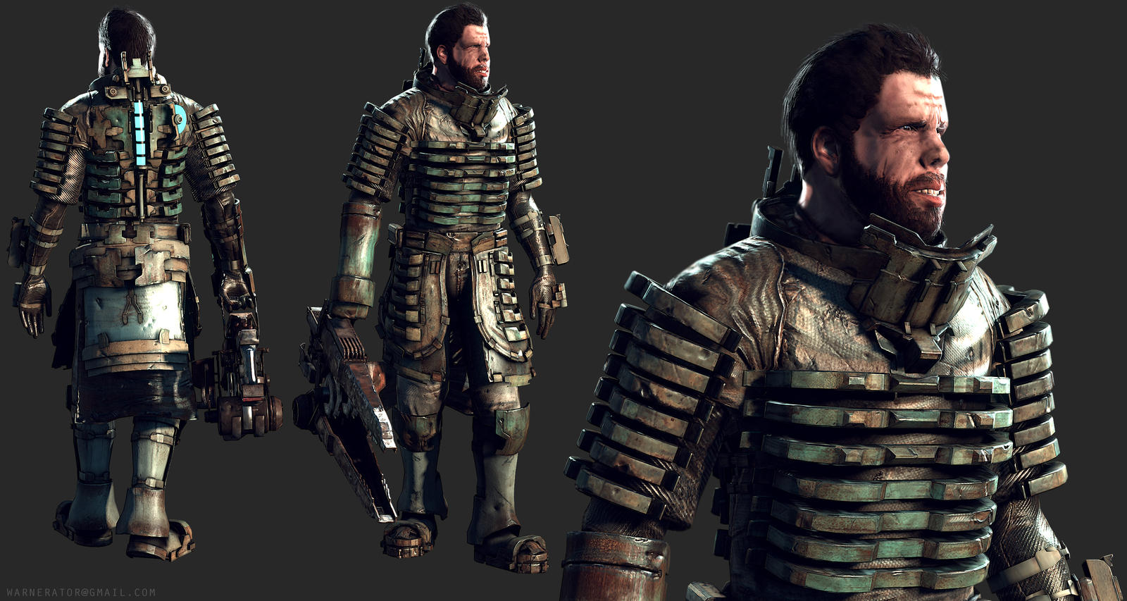 update dead space character ron perlman by bawarner on
