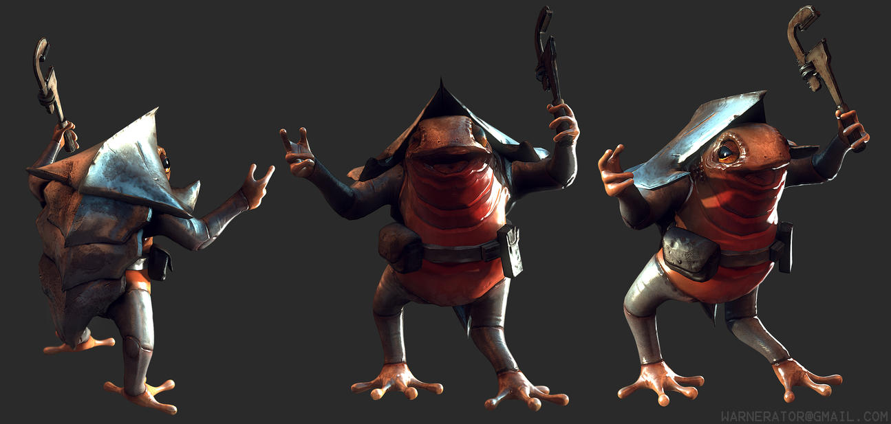 Little Toad model by Bawarner