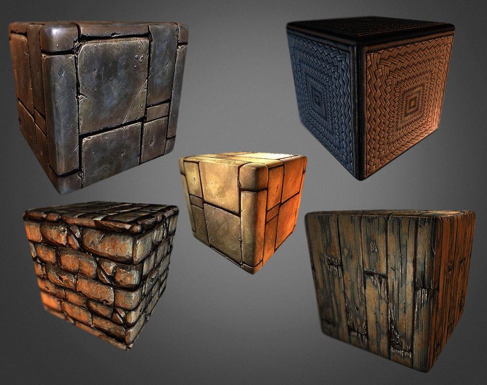 tiling textures by Bawarner