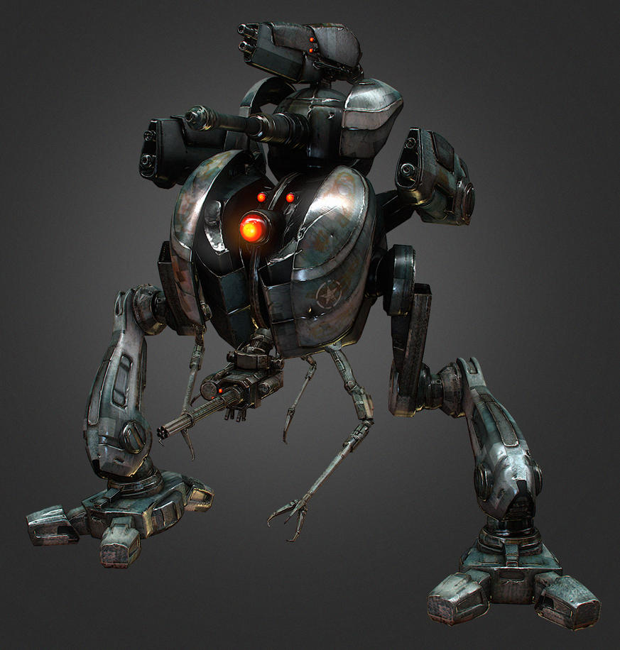 game robot by Bawarner