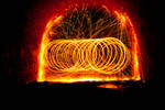 Wirewool light painting by RichardFrost
