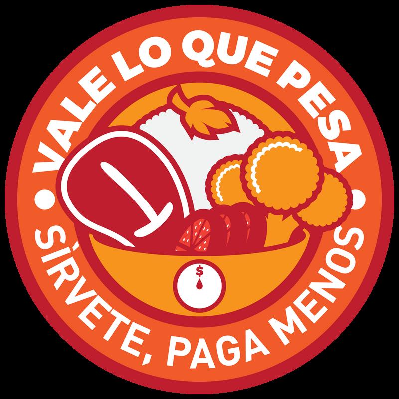 Vale lo que pesa Logo Badge by Maxmaster1990