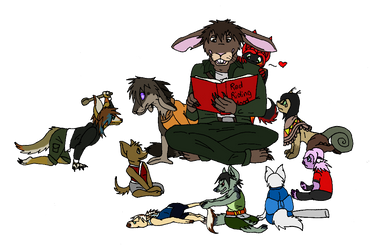 Story Time with Hernando by AmiliaLongTail