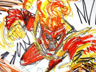 Firestorm by joselrodriguesart