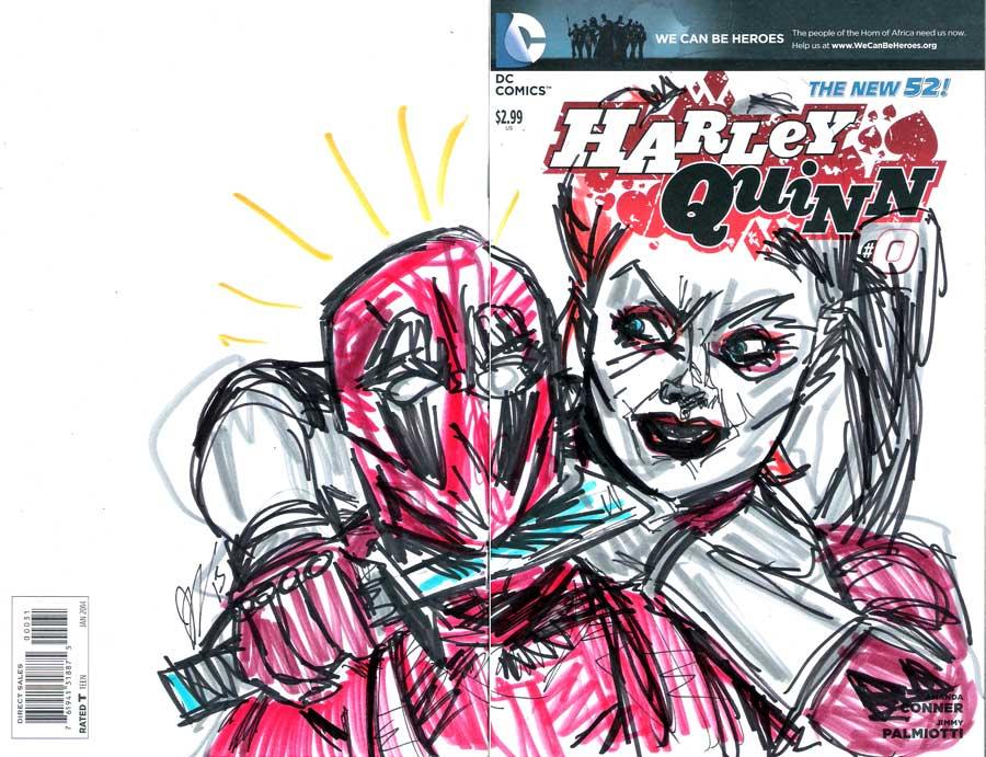 Harley quinn vs deadpool by joselrodriguesart on deviantart - Deadpool harley quinn ...