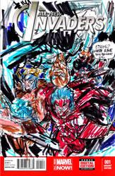 king kalem invades the invaders by jose rodrigues by joselrodriguesart